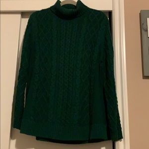 Lands' End Sweaters - Turtle neck cable knit sweater